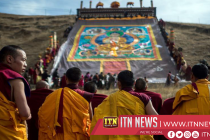 Exiled Tibetan celebrate holiest Buddhist festival in northern India