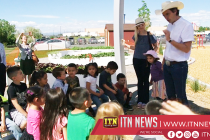American non-profit helps teach kids to eat healthy through learning gardens
