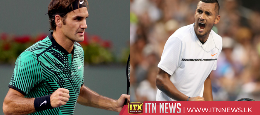 Flamboyant Kyrgios books Mercedes Cup semi-final clash with Federer
