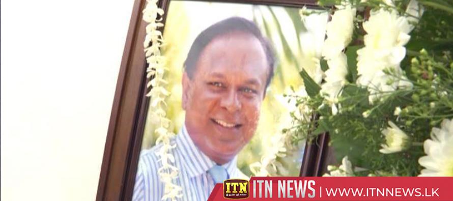 Veteran journalist Hema Nalin Karunaratne's funeral tomorrow