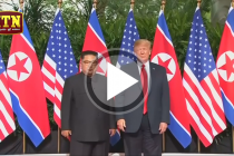 TRUMP AND KIM SIGN A HISTORICAL PACT