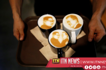 Latte art and gym ads: South Koreans play on Kim Jong Un's softer image