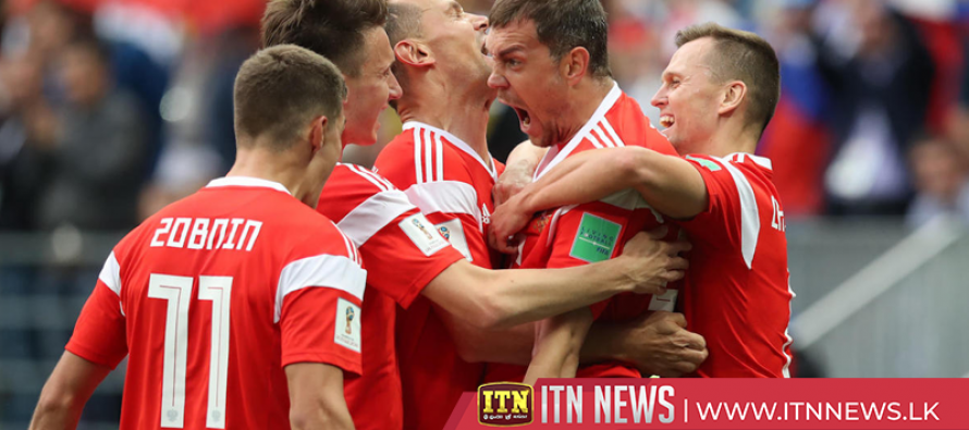Russia beat Egypt 3-1