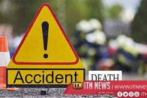 Two die in bus collision