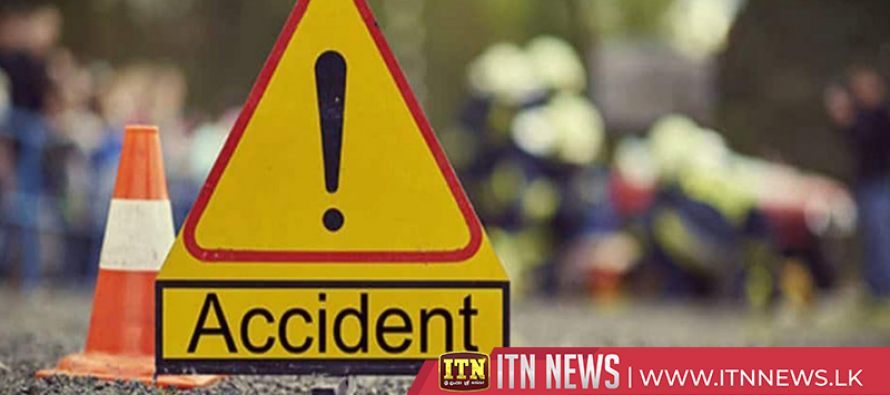 Eight injured in a motor accident in Galle
