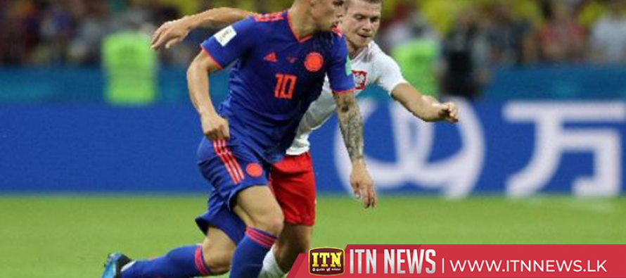 Colombia thrills fans with 3-0 demolition of Poland
