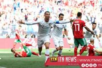2018 FIFA : මොරොක්කෝවට එරෙහි ජයග්රාහී ගෝලය රොනාල්ඩෝගෙන්