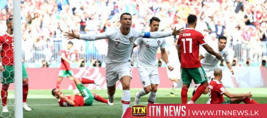 Ronaldo fires Portugal to 1-0 victory over Morocco