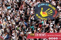 அமெரிக்க செனட் சபை முன்பாக போராட்டம் நடத்திய 575 பேர் கைது