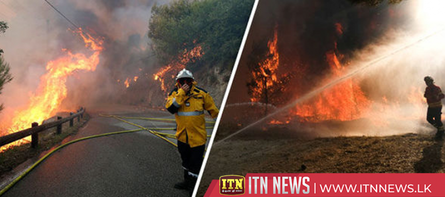 One dead, two firefighters hurt battling wildfires in U.S. West