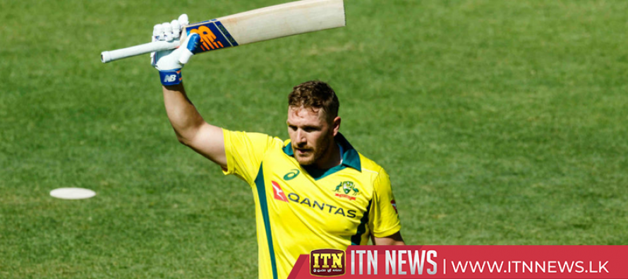 Aaron Finch sets up a new T20I record