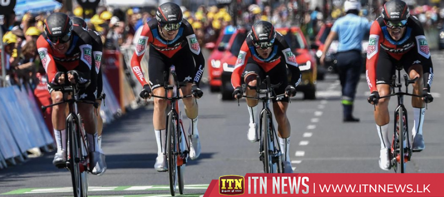 BMC Racing pip Team Sky in Tour de France stage three