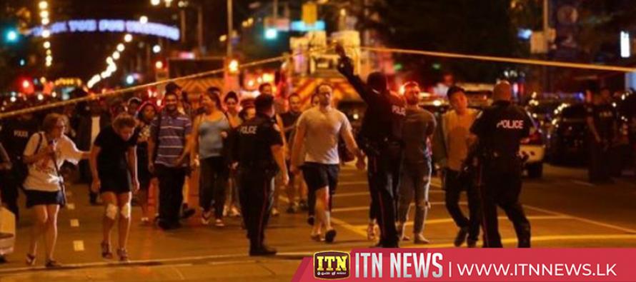 One dead as 15 people shot in Toronto