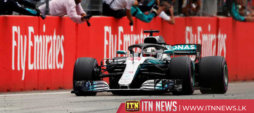 Hamilton retakes F1 lead with 'miracle' victory in Germany