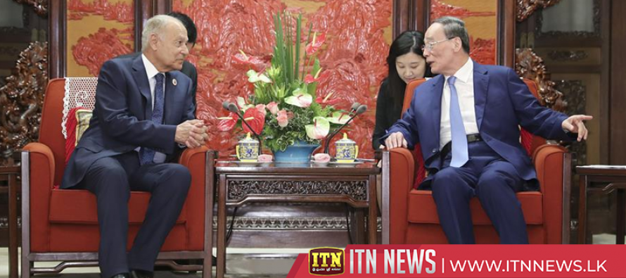 Chinese vice president meets with Arab League secretary-general