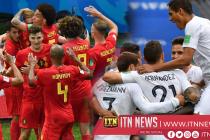 Belgium hold off Brazil fightback to reach semi-finals