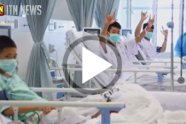 Thailand cave rescue: First video of boys in hospital emerge