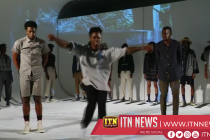Men's fashion week kicks off in New York showcasing wearable art, pants with a twist