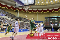 North and South Korean male basketball players hold friendly match in Pyongyang