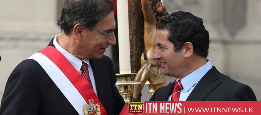 Peru's president fires justice minister as new scandal spreads
