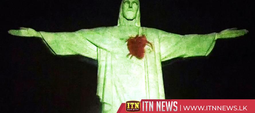 Rio's Christ statue raises heart health awareness