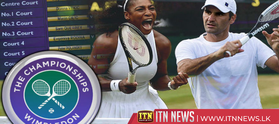Roger Federer and Serena Williams win on Wimbledon day one
