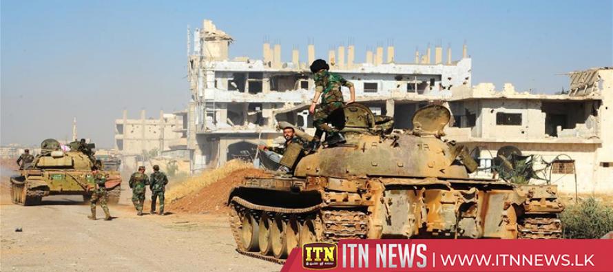 Syrian army seizes border crossing with Jordan