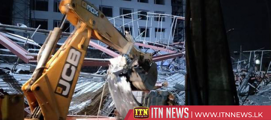 17 injured as building collapse in southern India