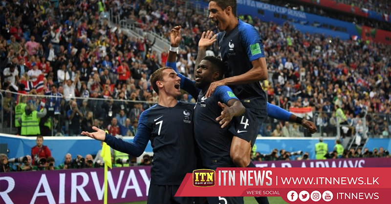 France beat Belgium 1-0 to reach World Cup final