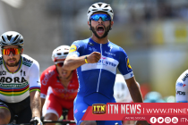 Tour debutant Gaviria wins Stage 4
