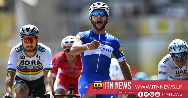 Tour debutant Gaviria wins Stage 4