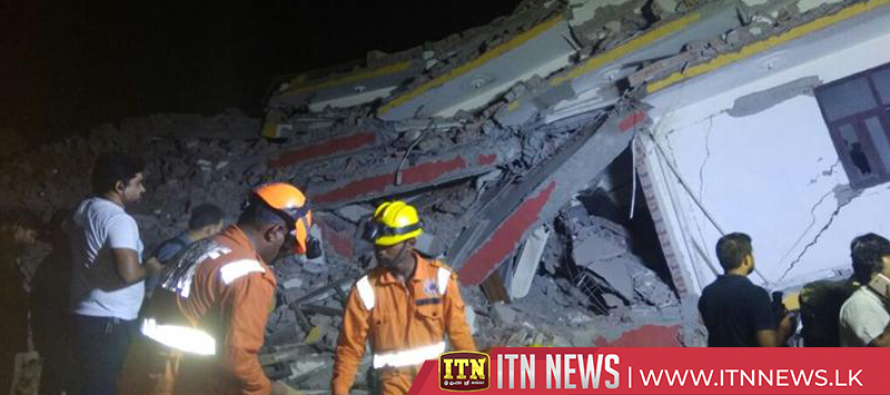 Building collapse in New Delhi suburb kills at least three, more feared dead
