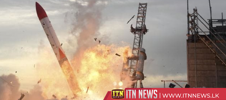 Japanese MOMO-2 rocket crashes and explodes, seconds after launch