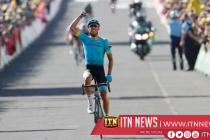 Fraile wins Tour de France stage 14