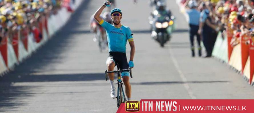 Fraile wins Tour de France stage 14
