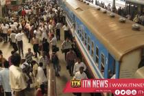 A sudden railway strike