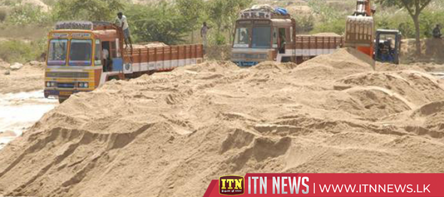 17 arrested for illegal sand mining