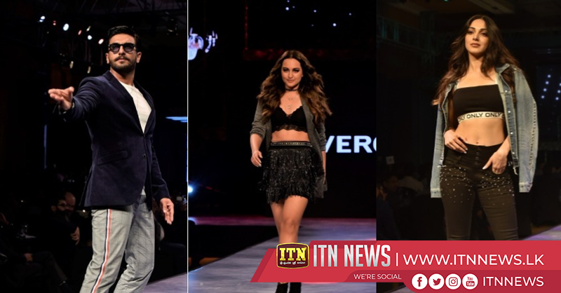 Bollywood lights up fashion show in Mumbai
