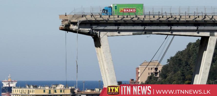Italian authorities blame highway operator for bridge collapse in Genoa