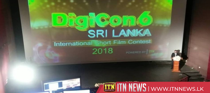 Awards presentation of the Digicon6 Sri Lanka Short Film competition