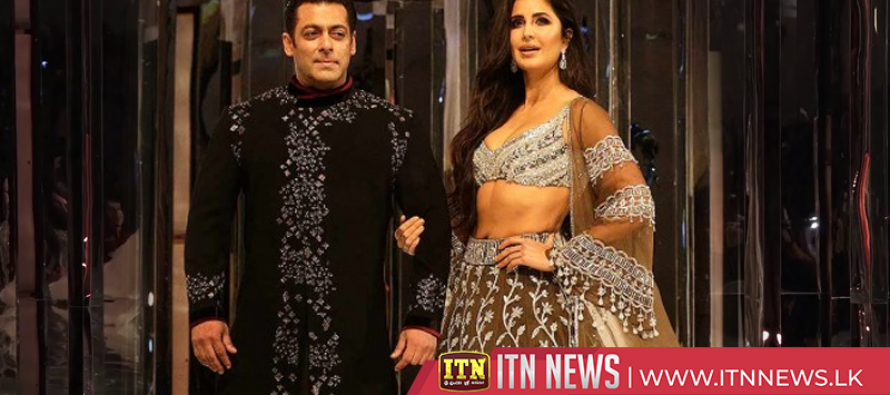 Bollywood's Salman Khan, Katrina Kaif set ramp on fire with traditional touch in Mumbai
