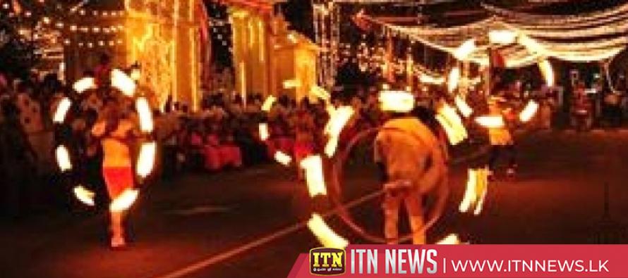 Kandy Esala Perahera Festival begins on Sunday