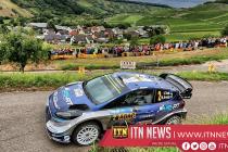 Tanak leads in German leg of World Rally Championship