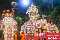 First Kumbal Perahera of the Kandy Esala Festival parades the streets