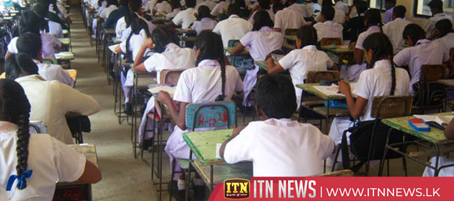 The GCE A/L examination will commence on the 5th of August