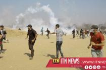 இஸ்ரேல் காசா எல்லையிலுள்ள பலஸ்தீனியர்கள் மீது மீண்டும் தாக்குதல்
