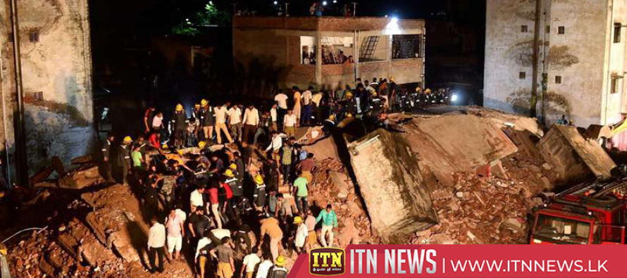 One dead, four rescued as search operation concludes in India building collapse