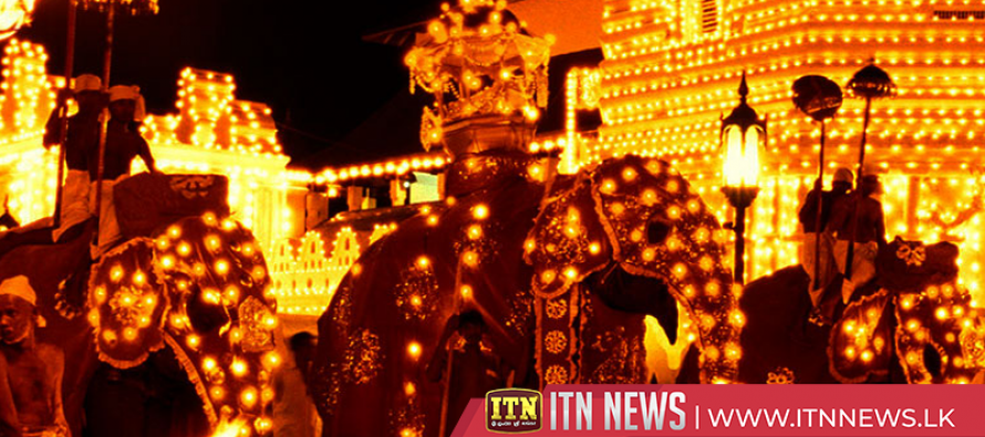 Final Kumbal Perahera of the Kandy Esala Festival parades tonight