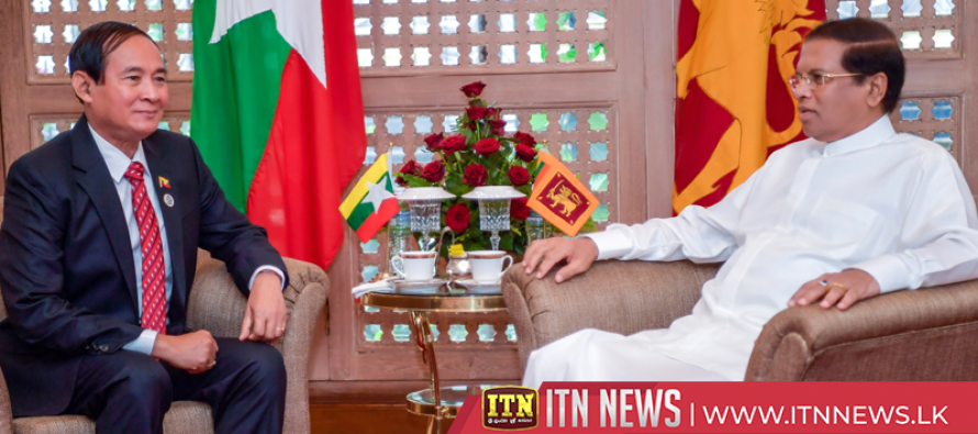 Leaders of Sri Lanka and Myanmar agree to reactivate the joint trade agreement
