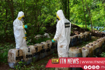 Mexico navy says finds 50 tonnes of meth in mountain lab